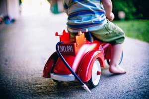 Dárek pro rok a půl staré dítě - vozítko