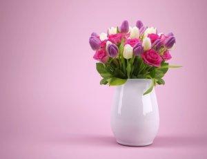Květiny jsou skvělý dárek do nového bytu